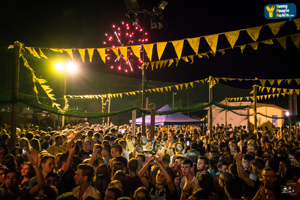 Yellow Night & Notte Rosa - Beach Party 2015